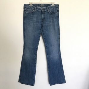 "7 For All Mankind ""A"" Pocket Flare Jeans"